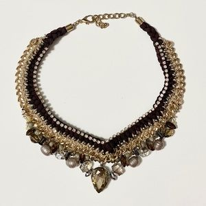 ✨2/$20 🤎 Mixed Statement Necklace